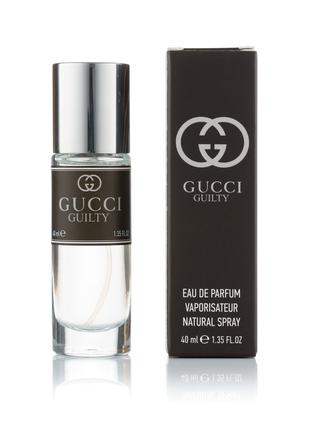 Мужской мини парфюм Gucci Guilty Pour Homme - 40 мл (320)