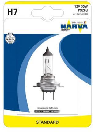 Лампа галогенная  12V H7 55W PX26D  NV 48328.1B