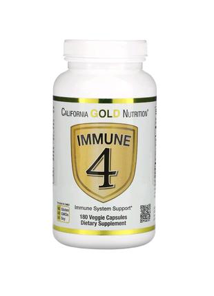 Immune4, средство для укрепления иммунитета, 180растительных ка