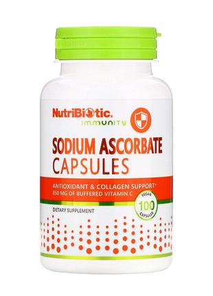 Immunity, аскорбат натрия, во витамин с, 100растительных капсул