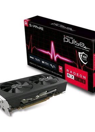 Видеокарта SAPPHIRE Radeon RX580 Pulse 4Gb GDDR5