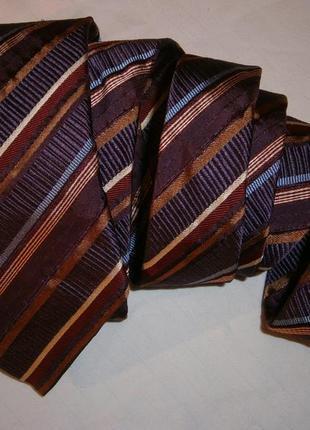 Интересный галстук шелк франция