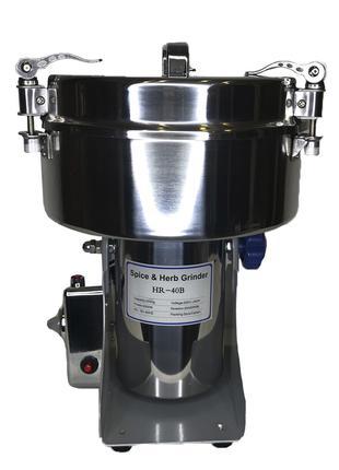 Мини мельница 2500 мл,бытовая мукомолка для помола зерна,специй.