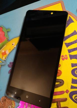 Bravis A503 Joy дисплей екран сенсор с рамкой + шлейф. Оригинал