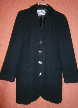 Винтажное пальто- пиджак syline шерсть ламы весна- осень
