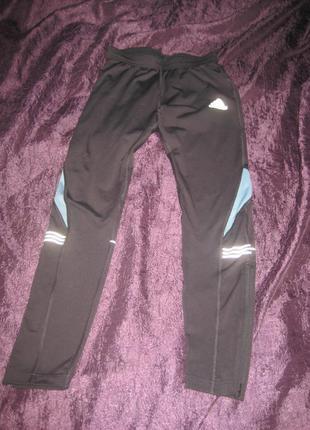 Трэки, брюки для бега, Adidas, р. М (44-46), б/у