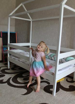 Детская кроватка домиком. Ручная работа