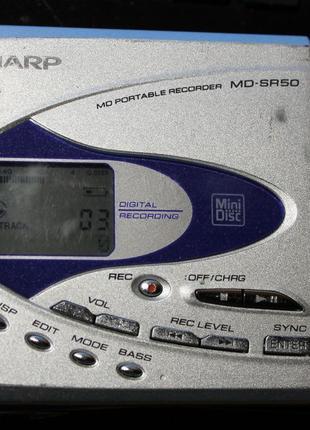Проигрыватель мини дисков SHARP MD-SR-50