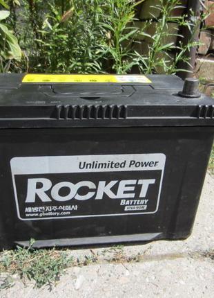 Аккумулятор б.у в отличном состоянии 60 75 90 95Ah Rokcet Vart...