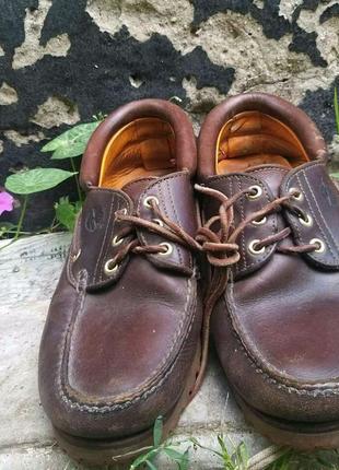 Фирменные туфли,кожа