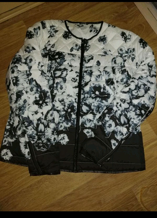 Женская курточка баталл весна осень зима