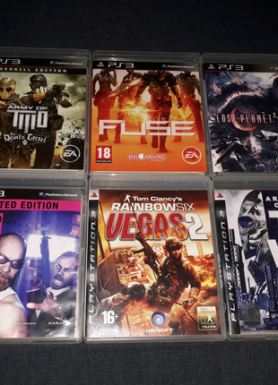 PS3 игры на двоих Lost Planet 2, Kane and Lynch 2, Army of Two
