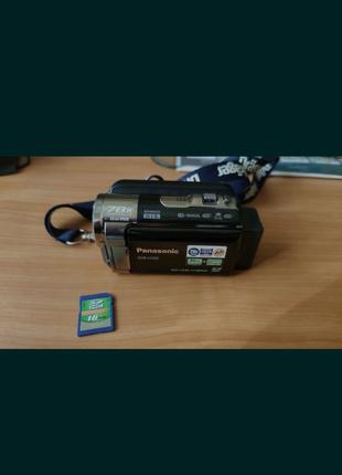 Відеокамера Panasonic SDR-H100+флешка в подарунок 16 GB