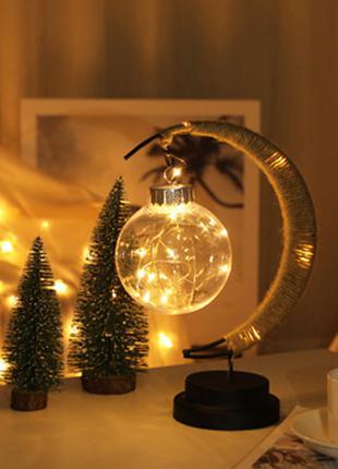 Новогодняя мини гирлянда для фото LED 2 метра для фон фото
