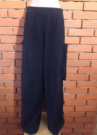 Брюки, джинсы, слоучи prisa collection велюровые 44-46 р.