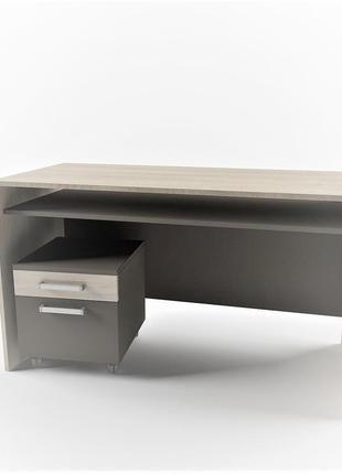 Офисный стол с мобильной тумбой Unit