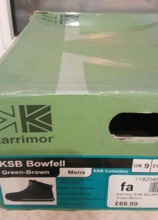 Ботинки зимние Karrimor