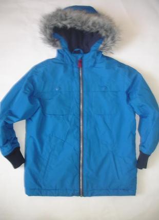 Фирменная bz теплая деми куртка мальчику 7-8 лет отличная