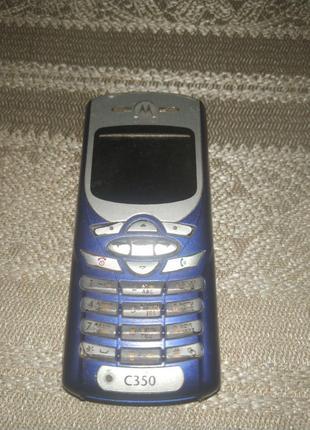 Мобильный телефон Motorola C350