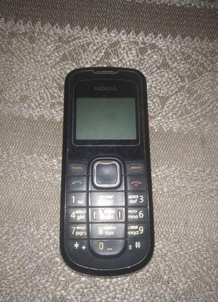 Телефон Nokia 1202-2 Black