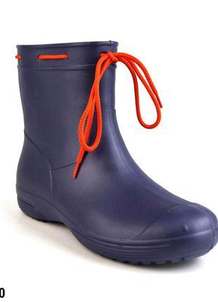 Сапожки непромокаемые, р. 36 - 41, обувь женская, 119200