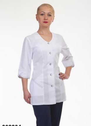 Костюм медицинский, батист, р. 42-60; женская медицинская одеж...