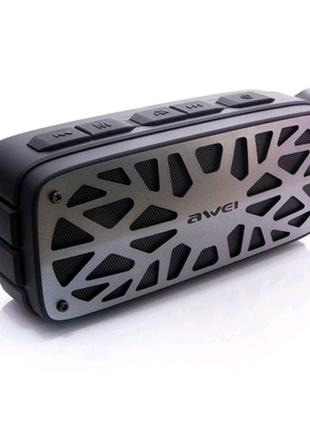 Портативная акустика колонка Awei Y330 Black