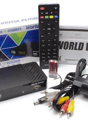 ТВ-ресивер World Vision T65