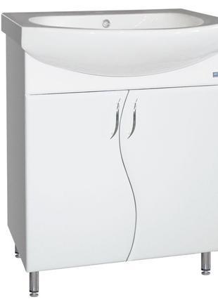 Тумба для ванной комнаты Волна Эконом 60