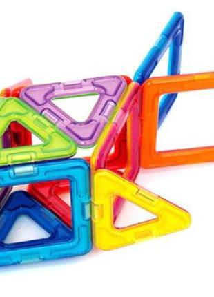 Акция! Магнитный конструктор развивающие магниты цветные поштучно