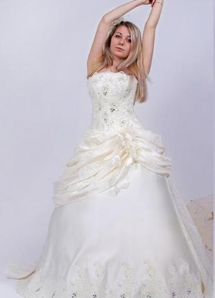 ❤ свадебное платье шампань новое