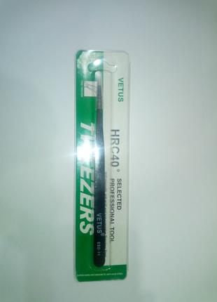 Пинцет Vetus ESD-11 ( ST-11 ) антистатический
