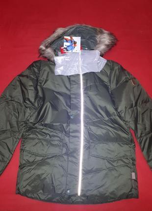 Новая куртка парка пуховик reima 164