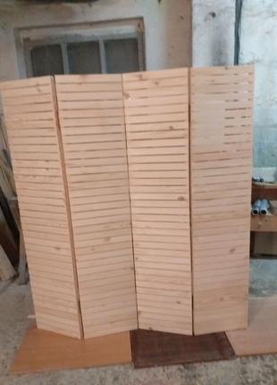 Ширма деревянная