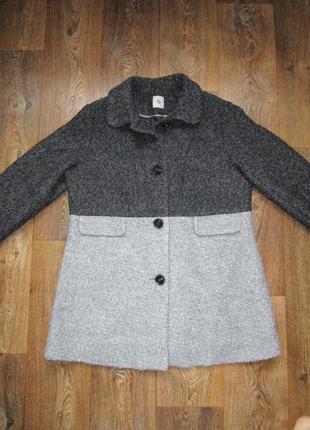 Люкс!!! пальто букле в составе шерсть