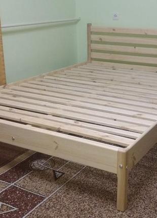 """Ліжко дерев'яне: """"без викрутасів, одне бильце"""""""