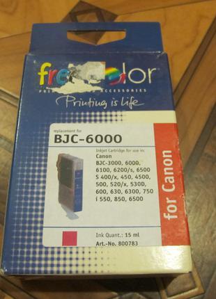 Картридж для Canon BJC 6000 красный