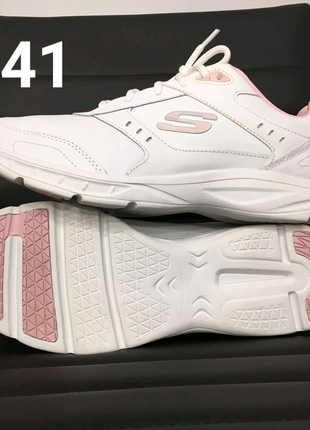 Skechers кросовки 26-26.5 см размер 41 гелевая стелька с памятью