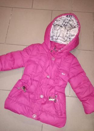 Курточка деми для девочки 2_3года