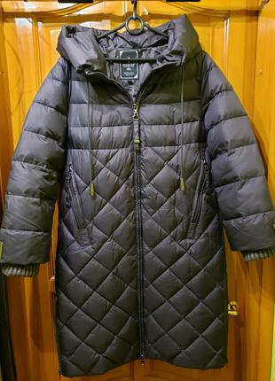 Зимнее женское пальто, новое