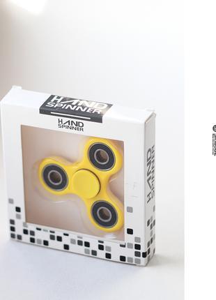 Спиннер Fidget Spinner желтый