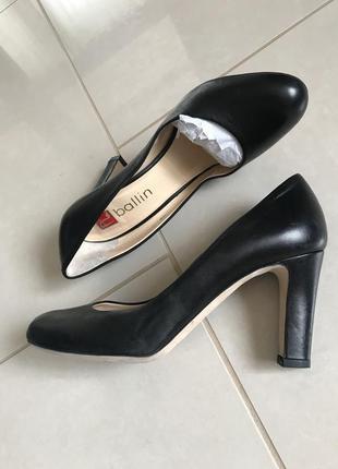 Туфли кожаные стильные модные ballin размер 38