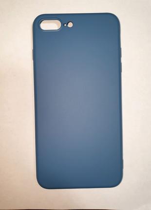 Силиконовый чехол для iPhone 7, 8 plus