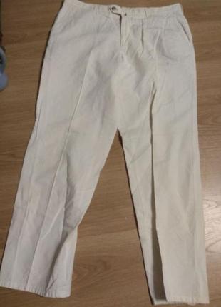 Брендовые джинсы светло-бежевые w.wegener xхxl germany