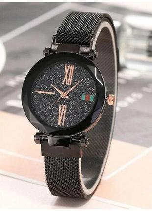 Часы Sky Watch / Часы женские наручные цвет черный