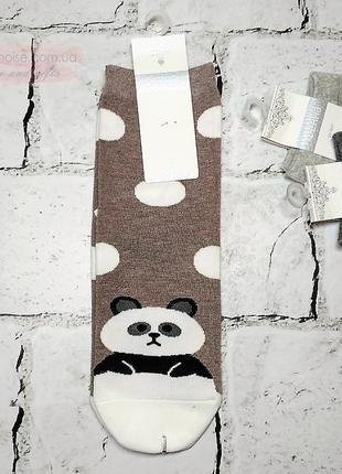 Женские носки с рисунком Панда