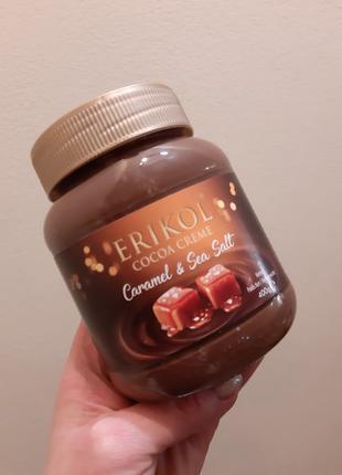 Шоколадная паста с карамелью