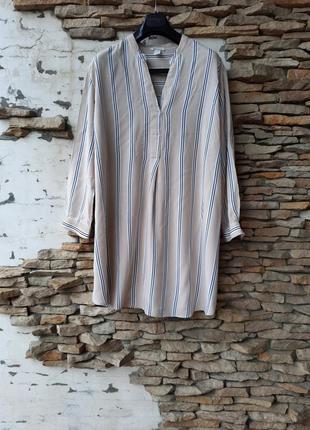 Стильное вискозное платье 👗 рубашка, туника большого размера