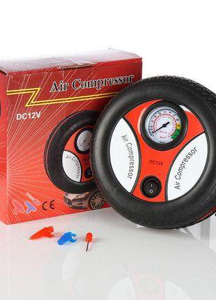 Мощный Автокомпрессор для Быстрой подкачки колес Air Compressor D