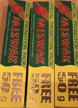 Очень хорошая натуральная  зубная паста Miswak Египет